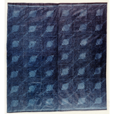 Cloth with Lizard (alangba)
