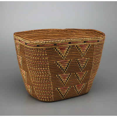 yiQus (coiled basket)