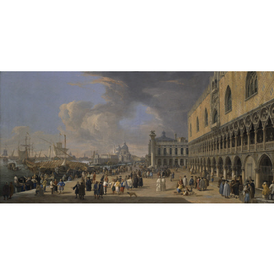 The Doge's Palace and the Grand Canal, Venice