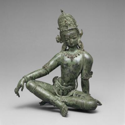 Seated Indra