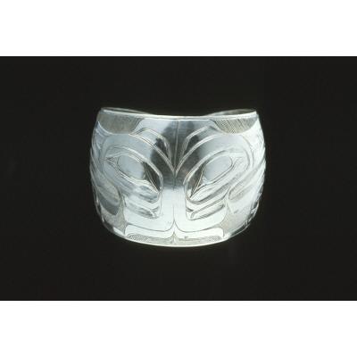 Bracelet, totemic eagle design