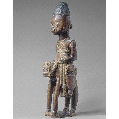 Figure for Ogun: Equestrian and his Chanter