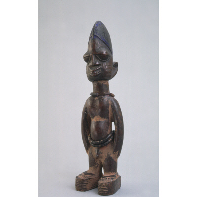 Commemorative twin figure (Awon Ere Ibeji)