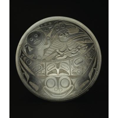 Qwa.a quihlaa (Argillite plate)