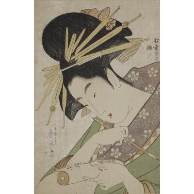 The Courtesan Segawa of the Matsubaya (Matsubaya uchi Segawa)
